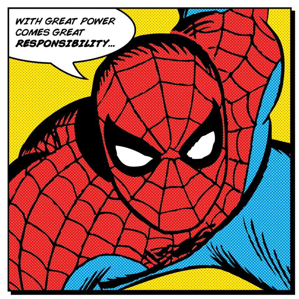 spider-man-quote-canvas-40x40