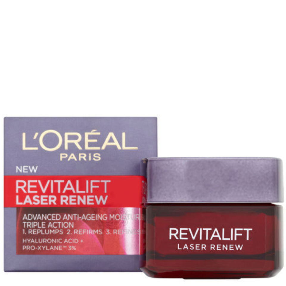 Купить L'Oréal Paris Dermo Expertise Revitalift Laser Renew Advanced Anti-Aging Moisturiser - Triple Action (50ml)