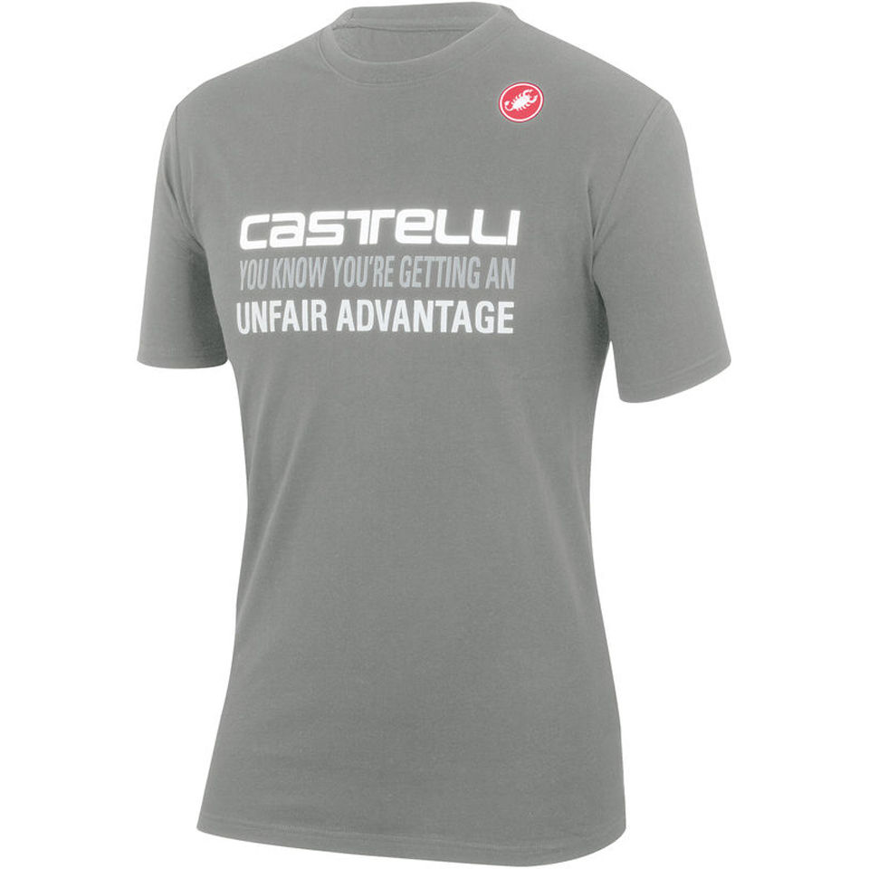 castelli-advantage-t-shirt-grey-xxl