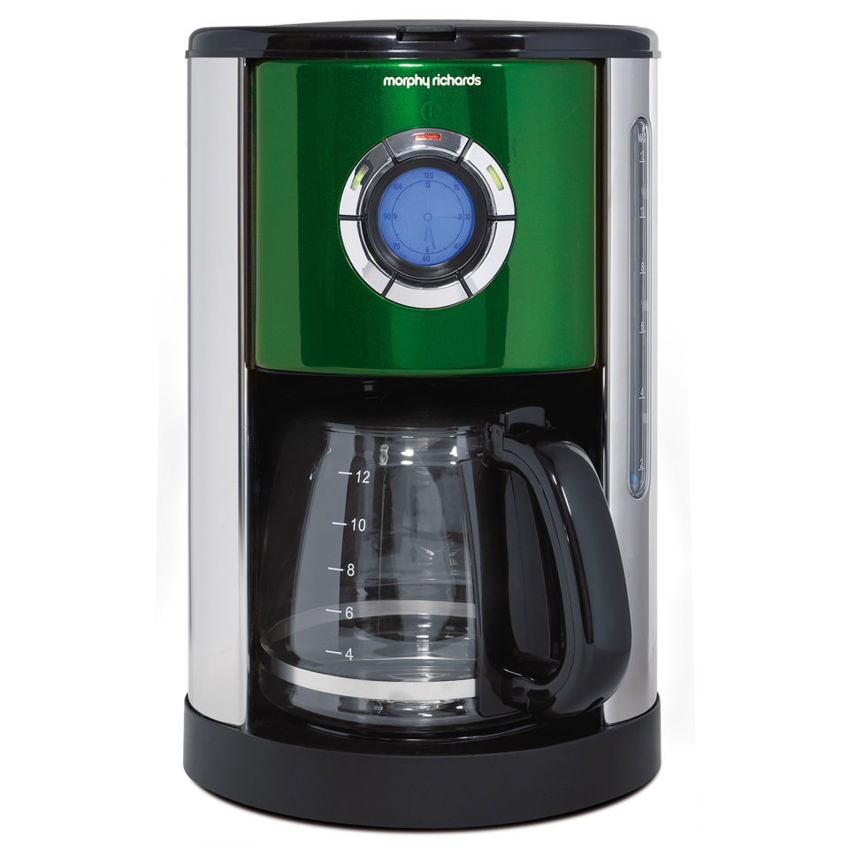 Morphy Richards Accents Filter Coffee Maker - Green IWOOT