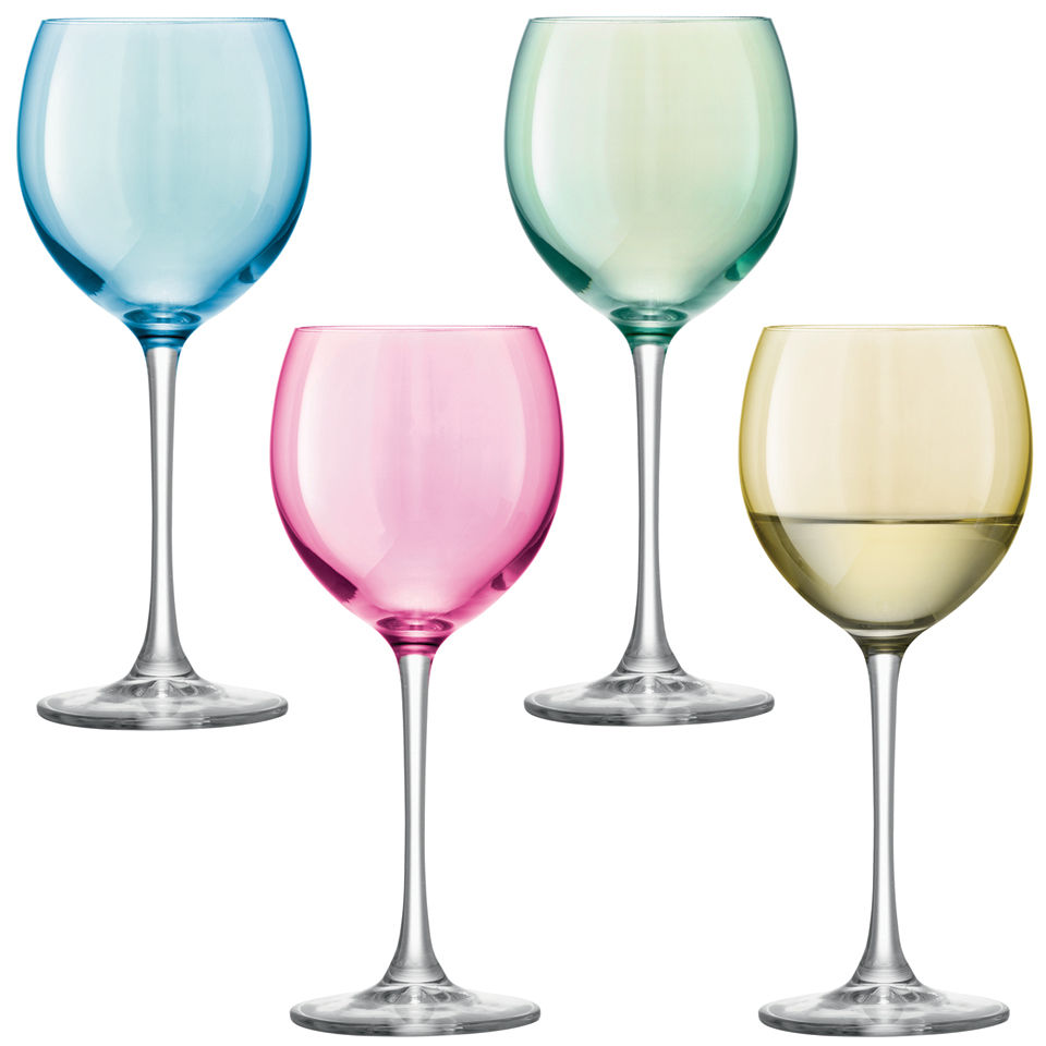 polka-wine-glass-pastel-assorted-4-x-400ml