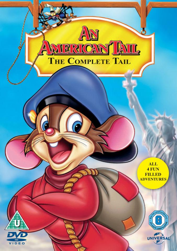 American Tail 1 4 Box Set DVD Zavvi UK