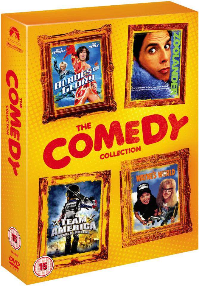 comedy-box-set-blades-of-glory-zoolander-wayne-world-team-america