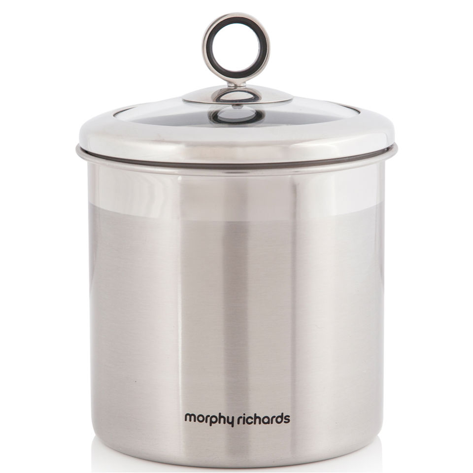 morphy-richards-accents-large-storage-canister-stainless-steel
