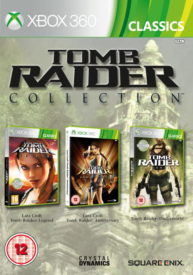 Tomb Raider Legend Anniversary Underworld Triple Pack
