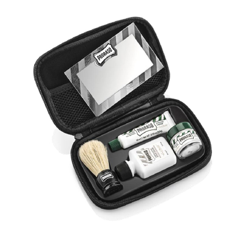 proraso gwp travel shave kit buy online mankind. Black Bedroom Furniture Sets. Home Design Ideas