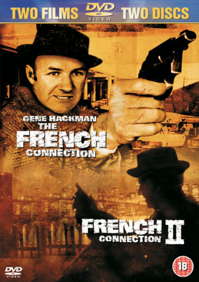 The French Connection 1 And 2 Dvd Zavvi