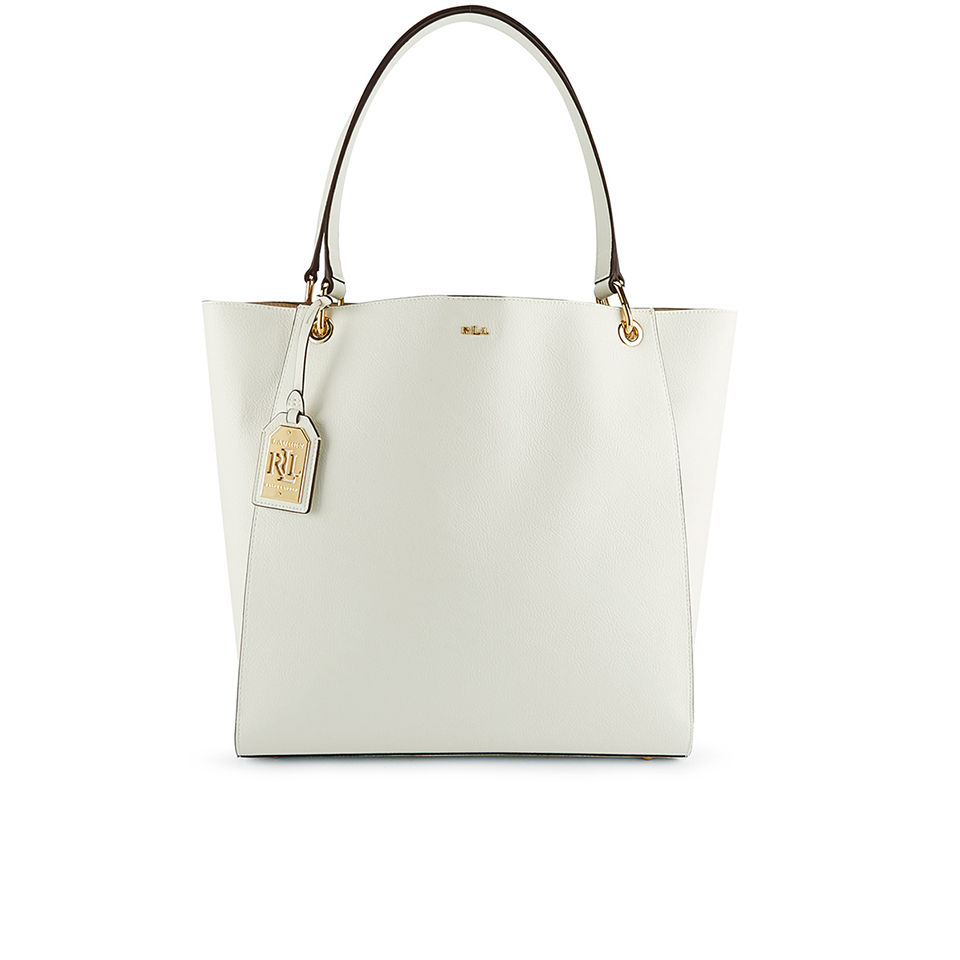 9cafc652b4 ... where can i buy lauren ralph lauren womens aiden tote bag vanilla d8b50  f22ad