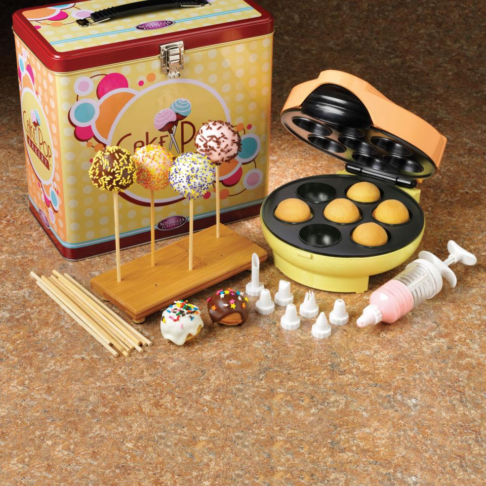 nolstagia electrics cake pop maker kit iwoot. Black Bedroom Furniture Sets. Home Design Ideas