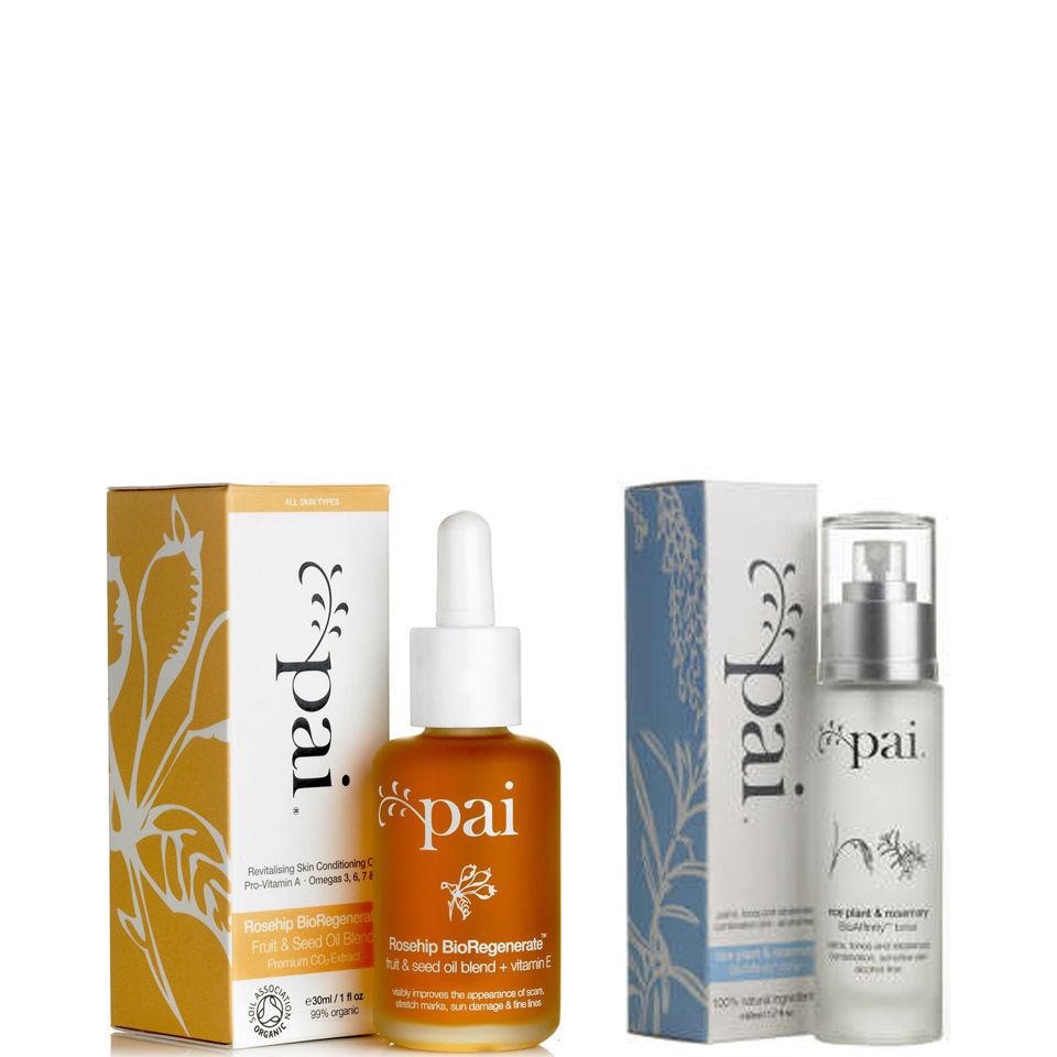 Pai Skincare Rosehip olja och Riceplant Toner