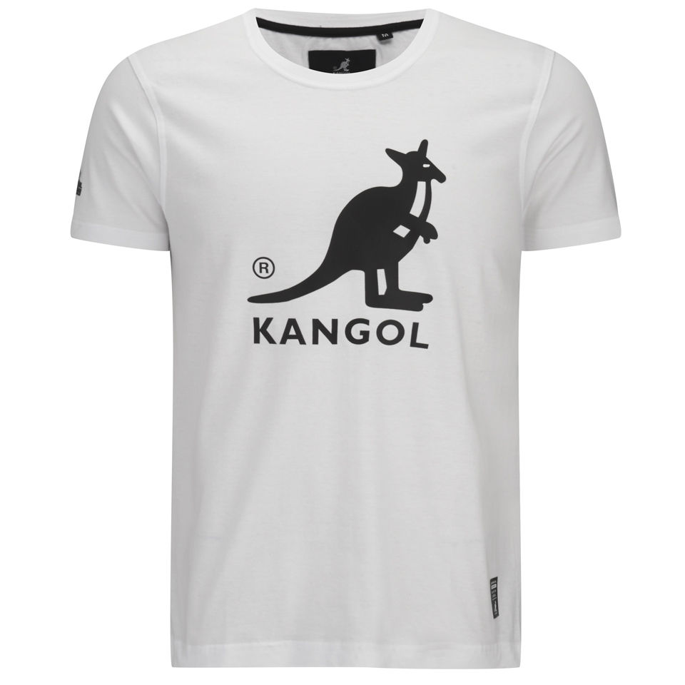 kangol-men-bando-printed-t-shirt-white-s