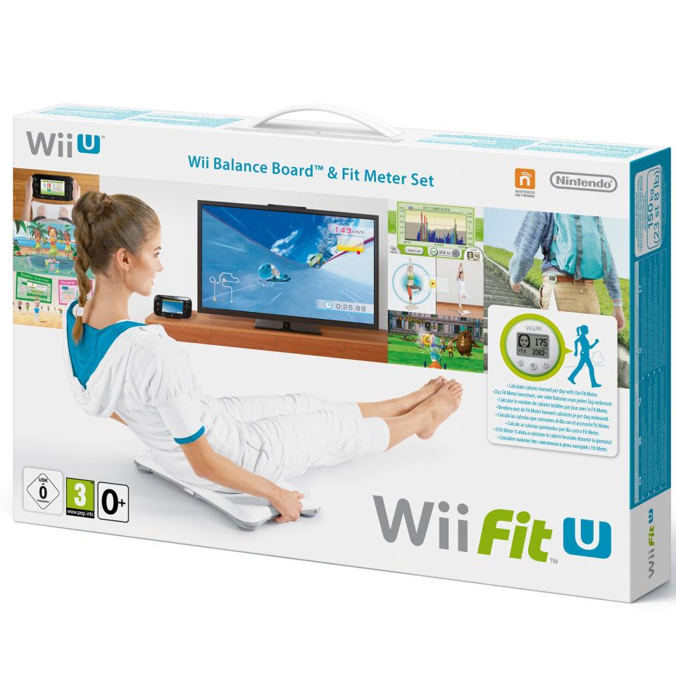 Balance Board Xbox One: Wii Fit U + Fit Balance Board + Fit Meter (Green) Wii U