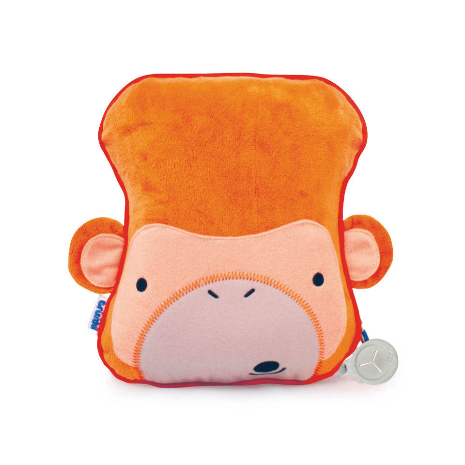 trunki-snoozi-hedz-travel-pillow-blanket-mylo-the-monkey-orange