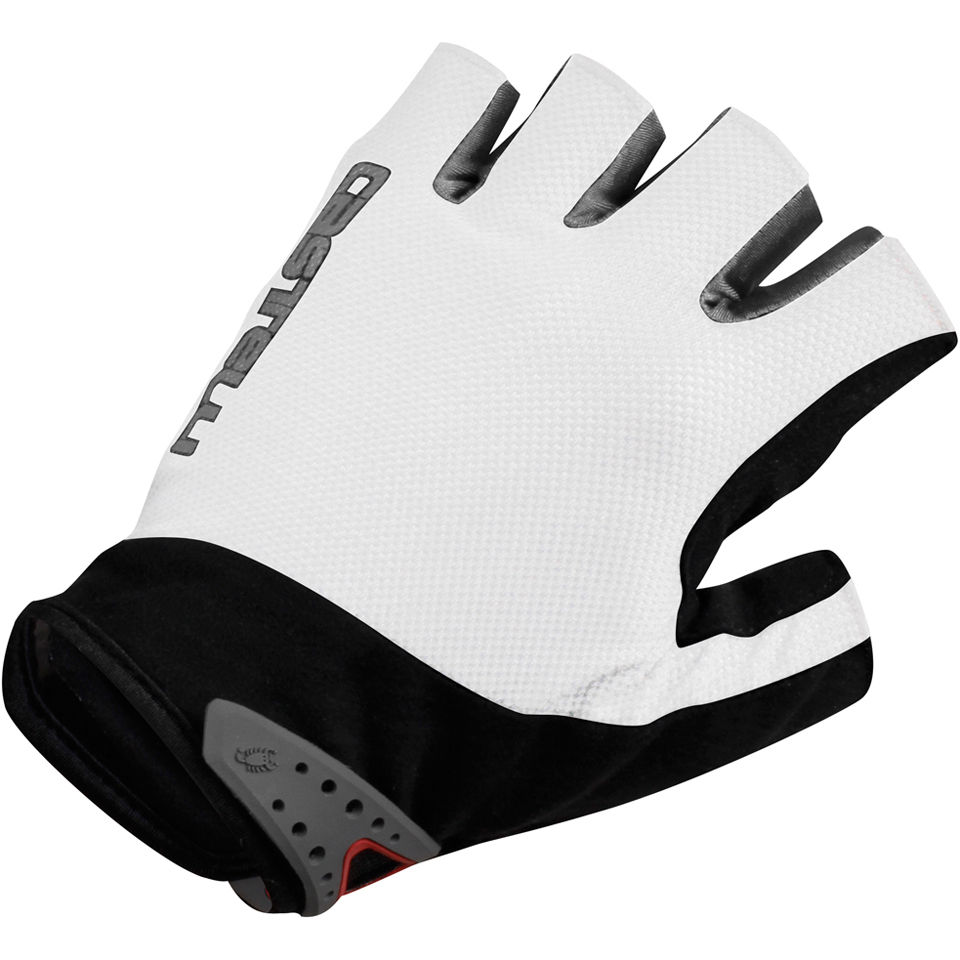 castelli-s-uno-gloves-white-black-m
