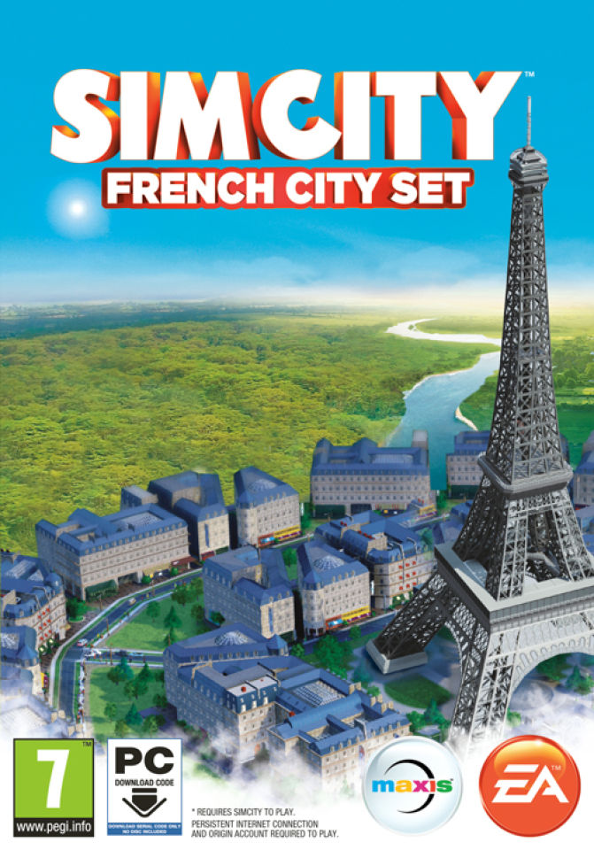 sim-city-paris-city-set