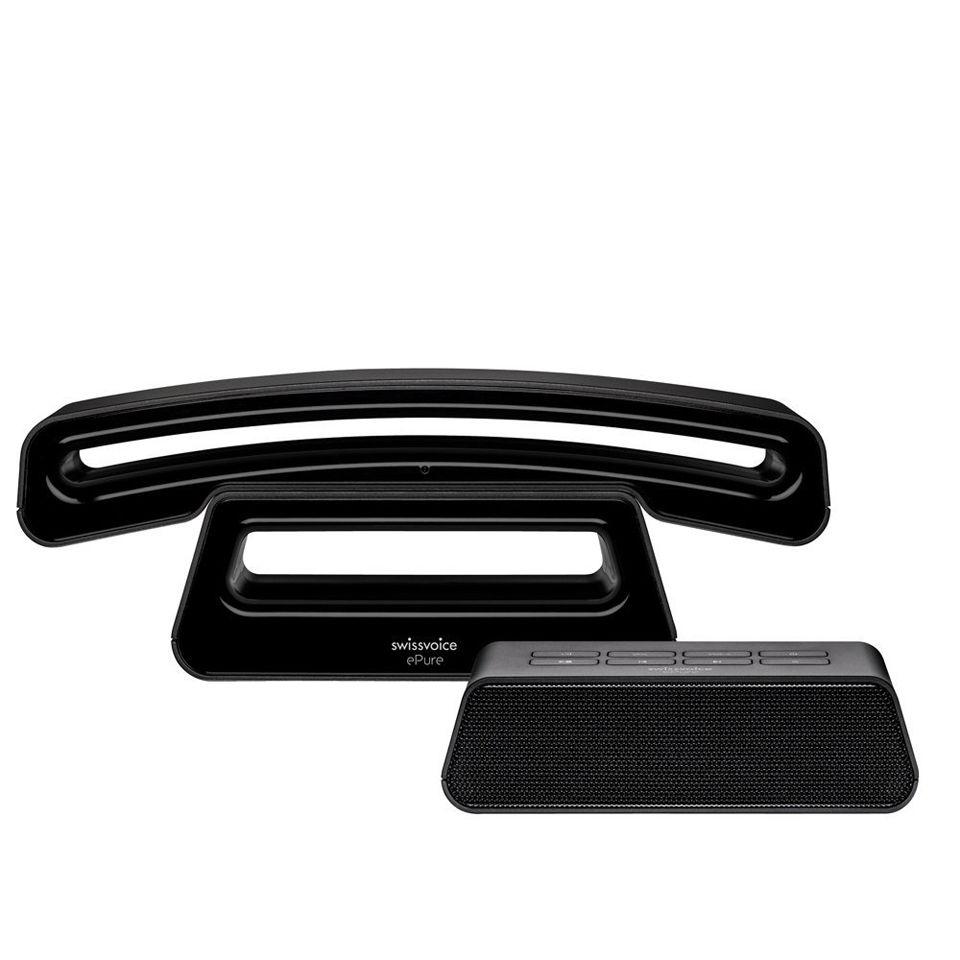 swissvoice-epure-v2-eco-cordless-digital-designer-dect-telephone-with-digital-answer-machine-base-black
