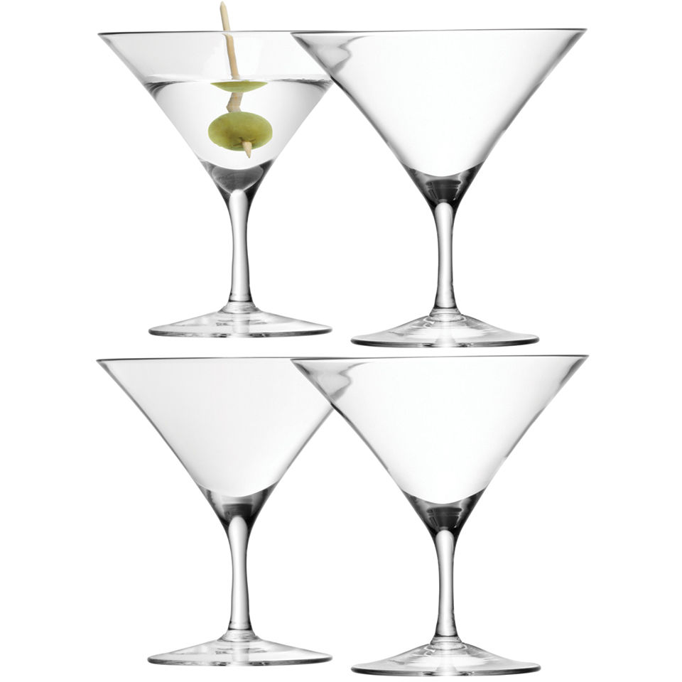 lsa-martini-glass-180ml-clear-set-of-4