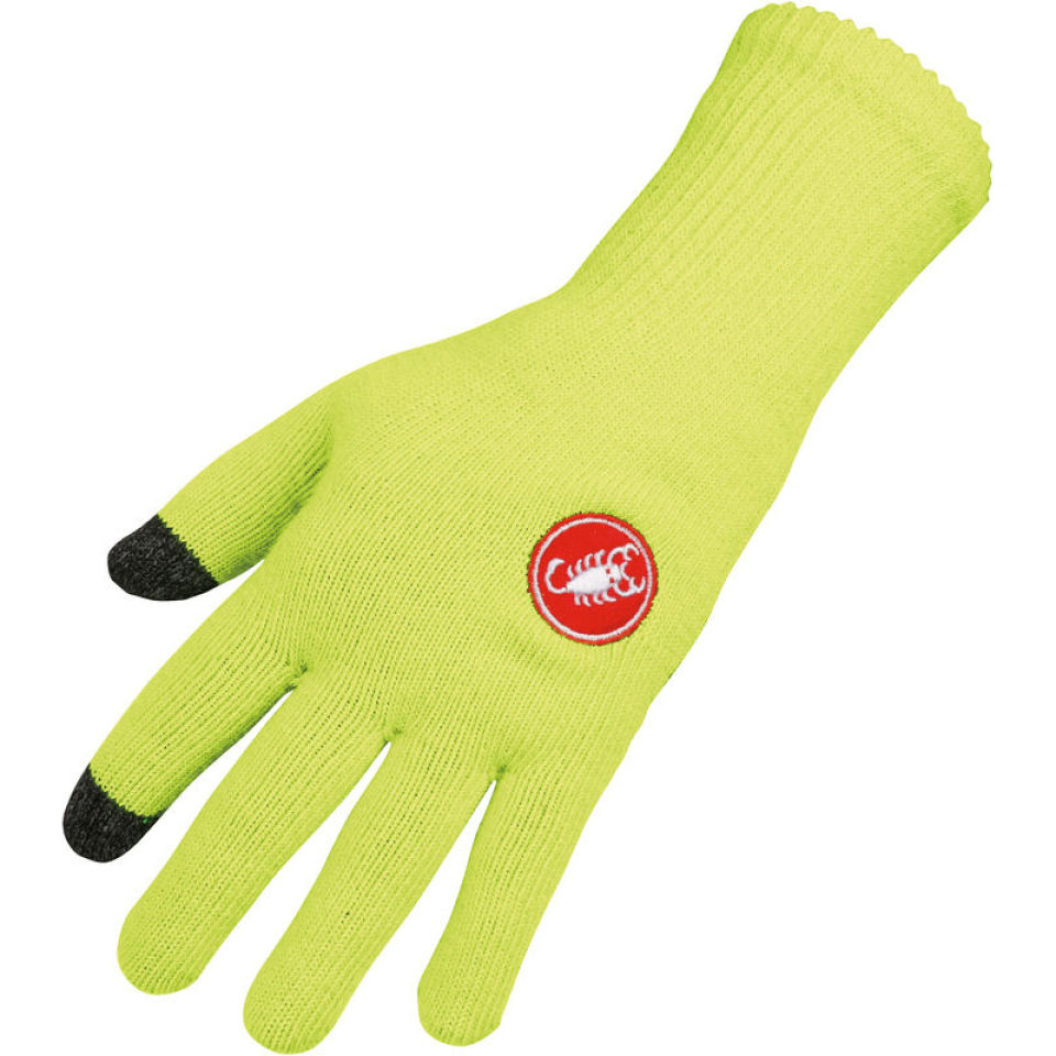 castelli-prima-gloves-fluorescent-yellow-sm