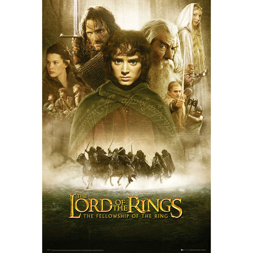 lord-of-the-rings-fellowship-of-the-ring-one-sheet-maxi-poster-61-x-915cm