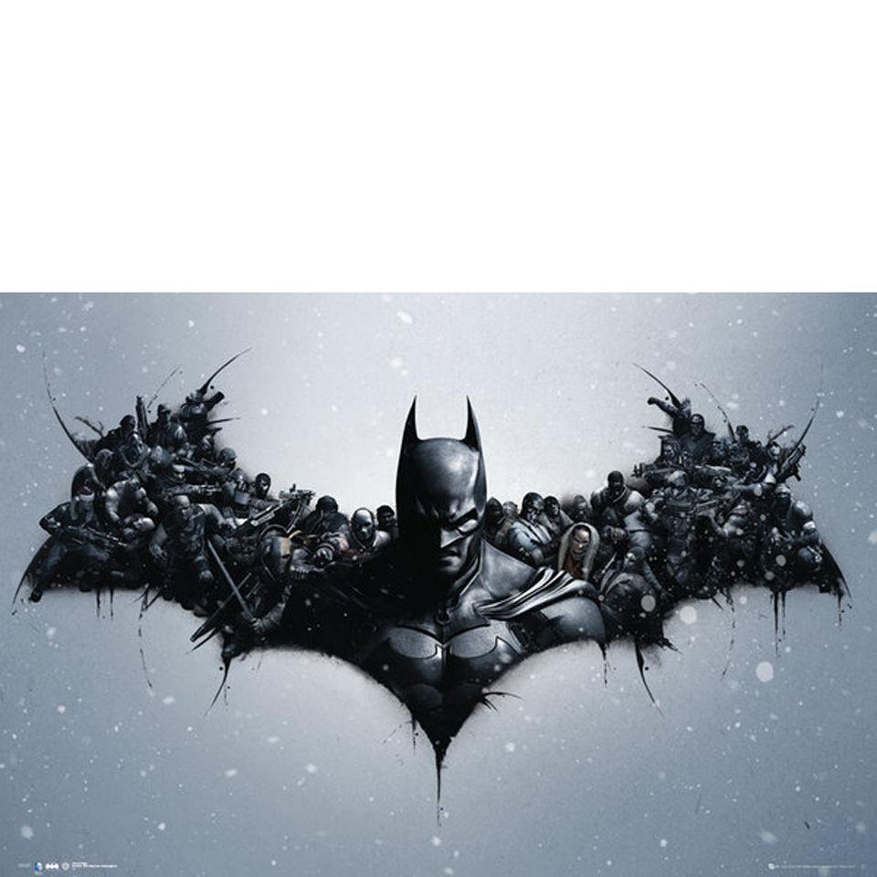 batman-arkham-origins-arkham-bats-maxi-poster-61-x-915cm