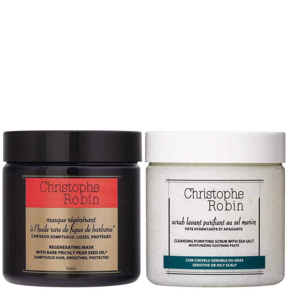 christophe-robin-cleansing-purifying-sea-salt-scrub-250ml-regenerating-mask-with-rare-prickly-pear-seed-oil-250ml