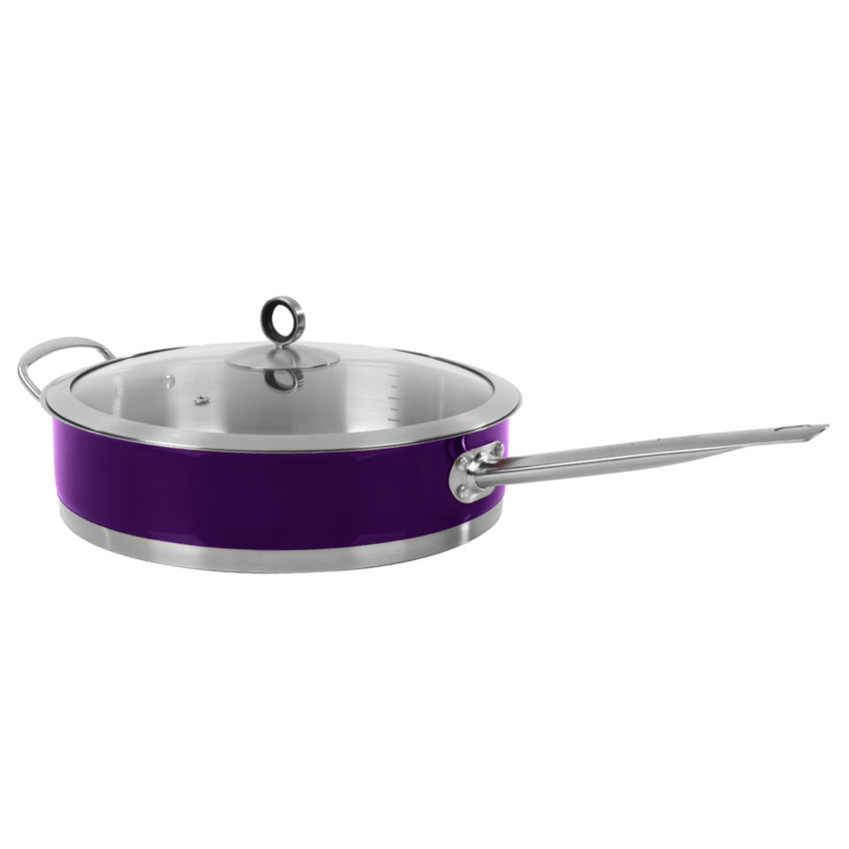 morphy-richards-46353-accents-saute-pan-with-glass-lid-plum-28cm