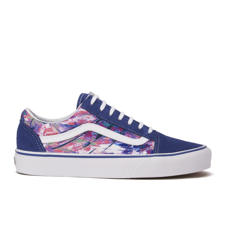 Vans Women S Old Skool Multi Paint Trainers Purple