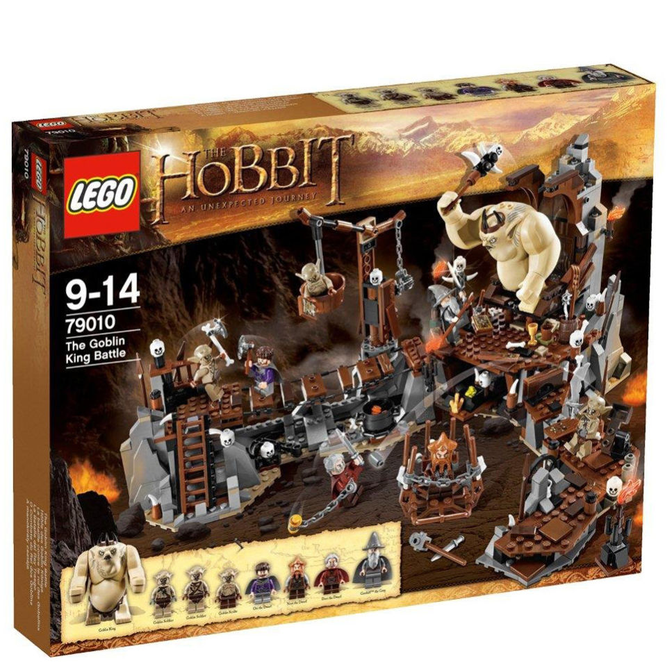 The HobbitGoblin Lego HobbitGoblin King Lego The Battle79010 Lego King The Battle79010 hxosrQCtdB
