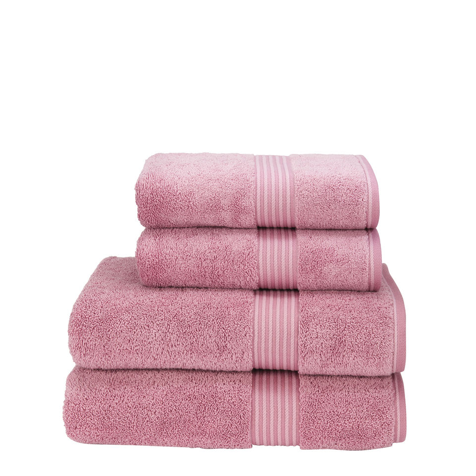 Lacoste Towels Clearance: Christy Supreme Hygro Towels - Blush Homeware