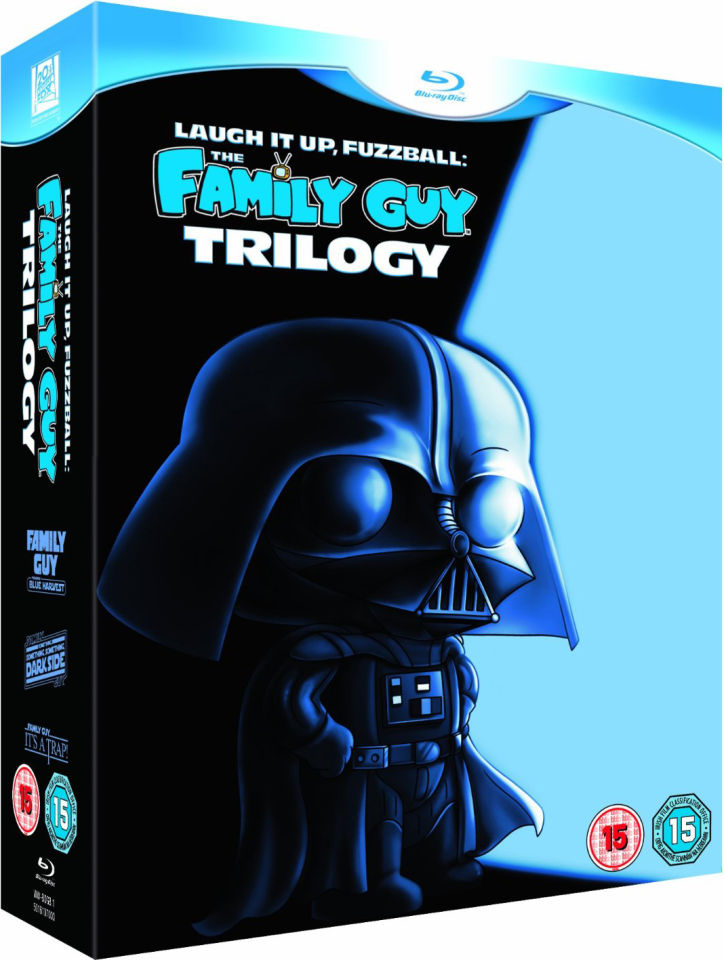 Laugh It Up Fuzzball Family Guy Trilogy Blu Ray Zavvi