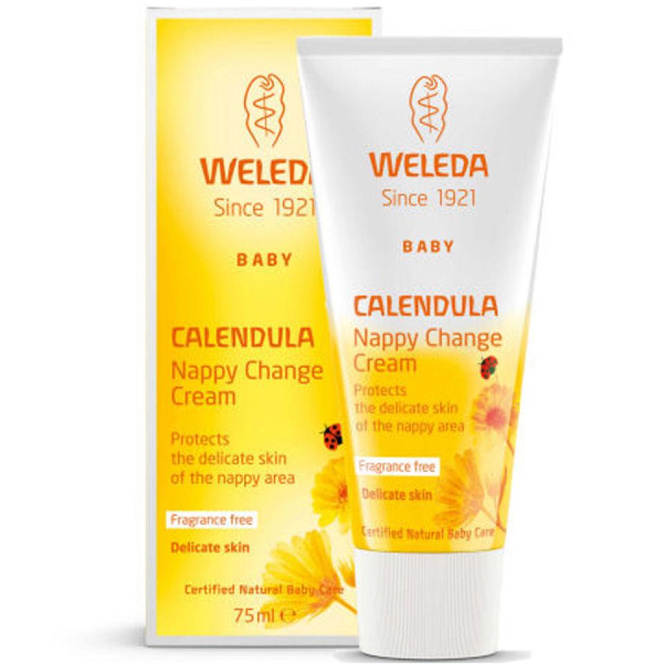Weleda Baby Calendula Nappy Change Cream 75ml Health