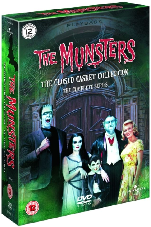 The Munsters The Complete Series Dvd Zavvi