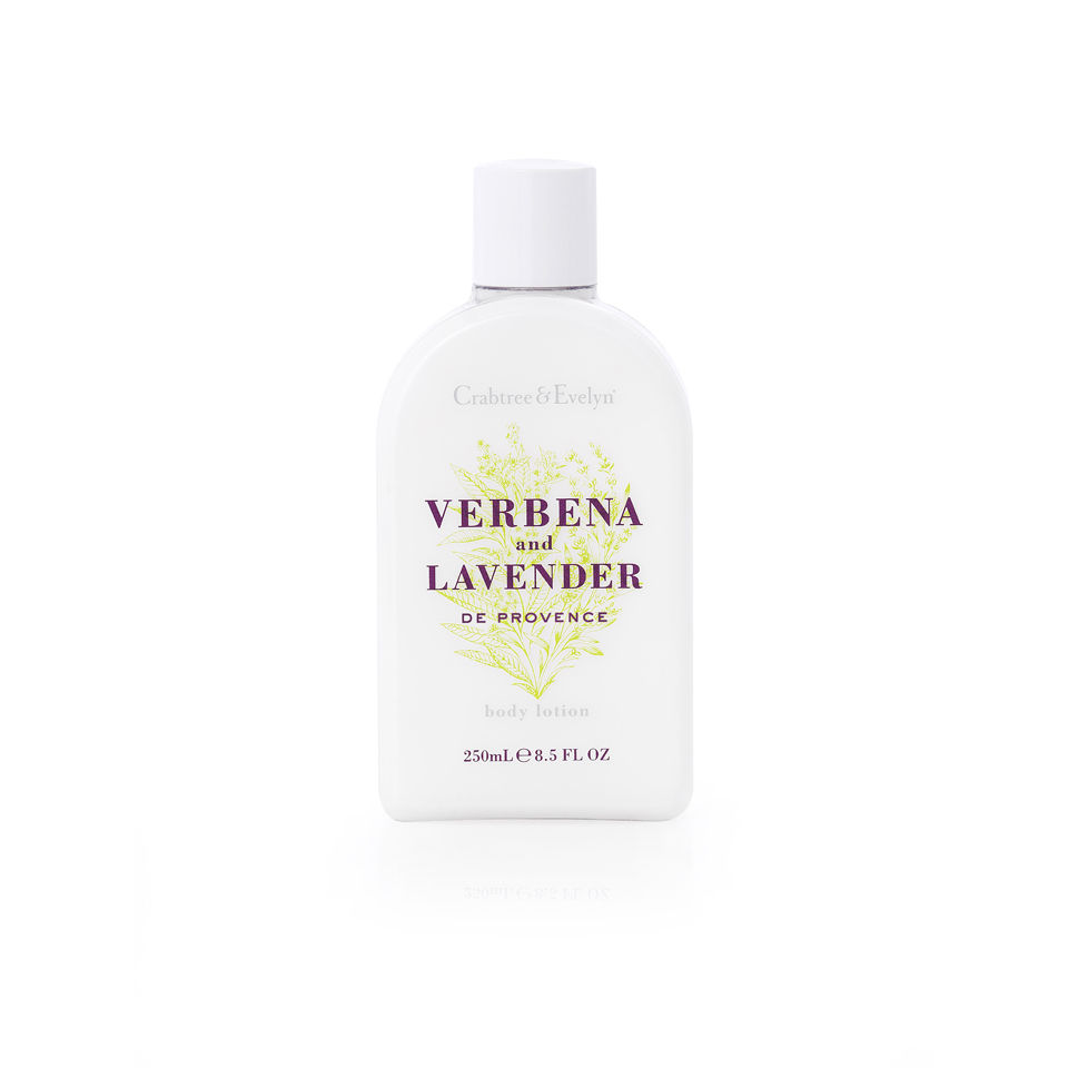 crabtree evelyn verbena and lavender body lotion 250ml health beauty. Black Bedroom Furniture Sets. Home Design Ideas