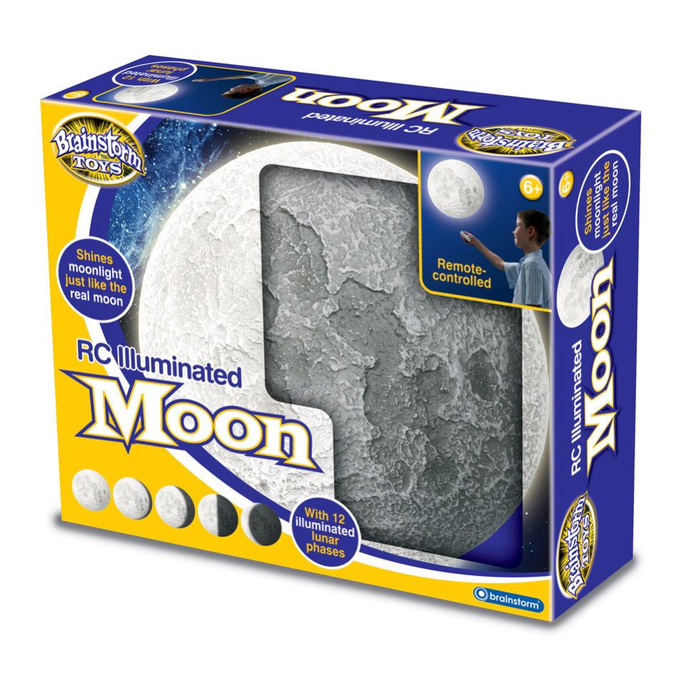 Ausgefallengadgets - Ferngesteuerter leuchtender Mond - Onlineshop Sowas Will Ich Auch