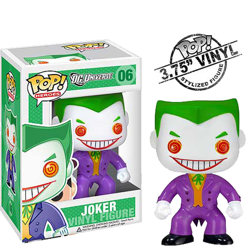 DC Comics The Joker Funko Pop! Figur