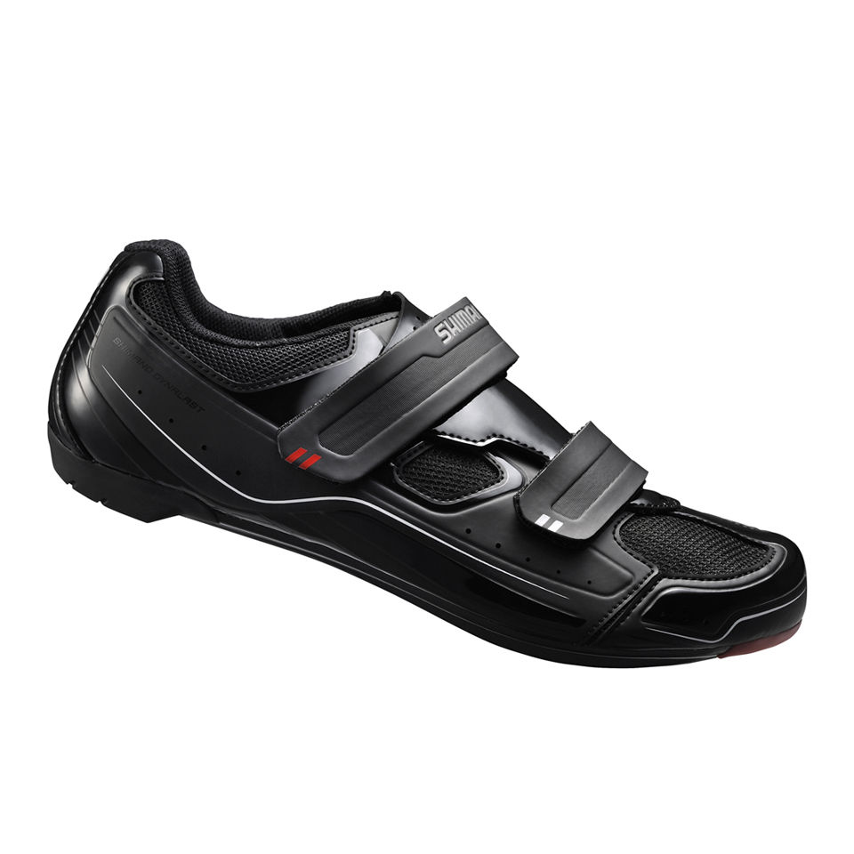 shimano-r065-road-cycling-shoes-black-39-black