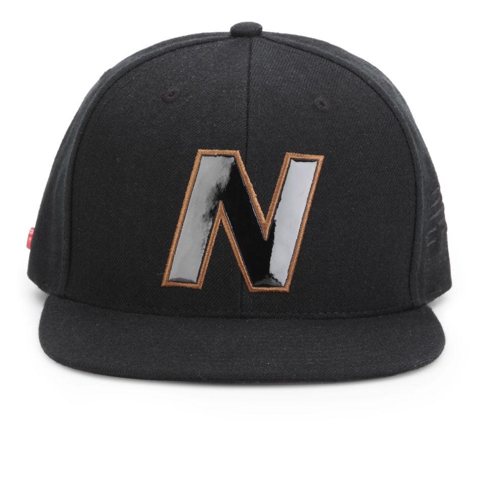 Gorra béisbol New Balance Snap - Unisex - Negro