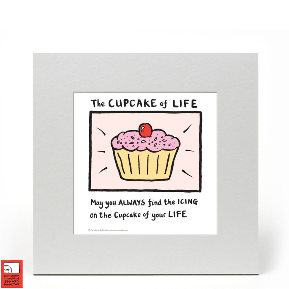 edward-monkton-fine-art-print-cupcake-of-life