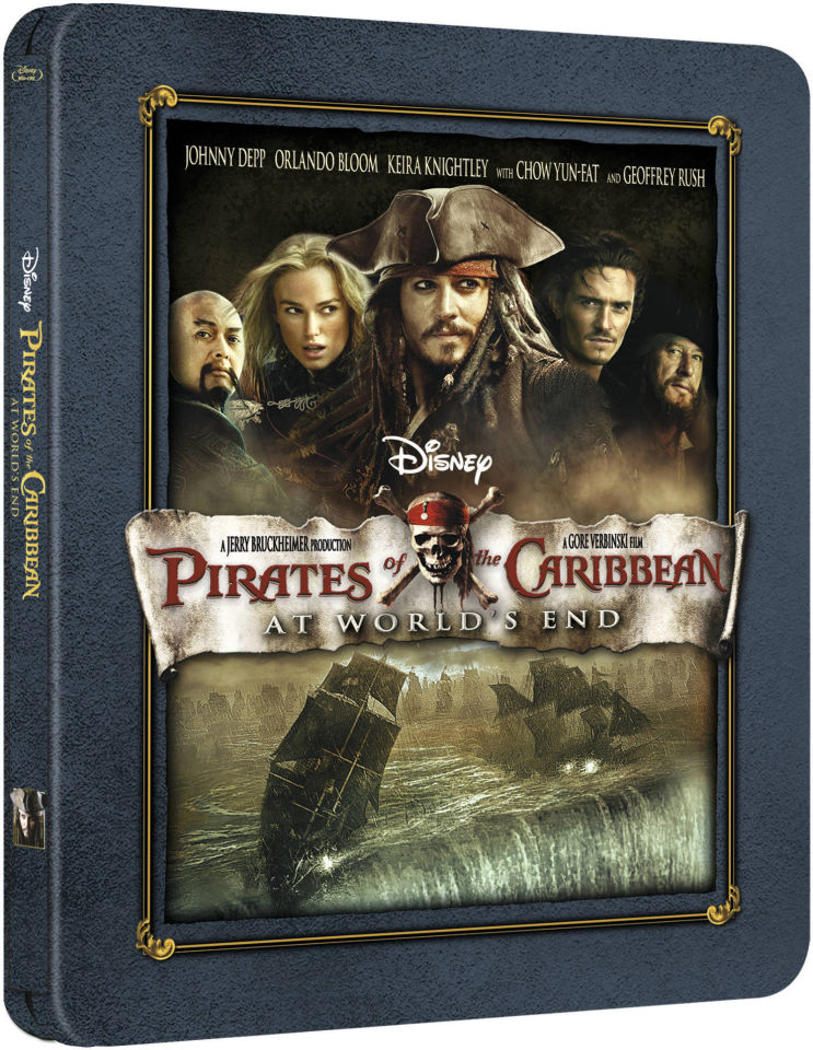 Pirates Of The Caribbean At World S End Zavvi Exclusive