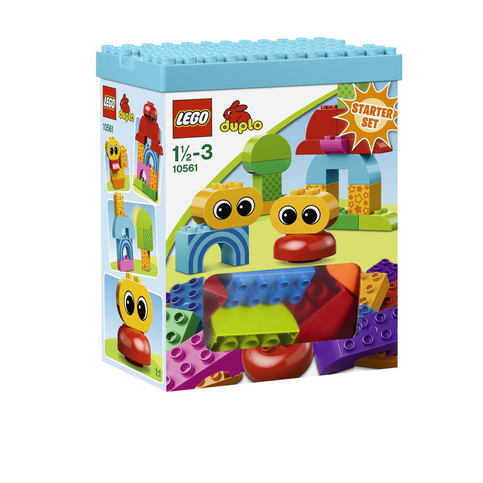 lego duplo toddler starter building set 10561 toys. Black Bedroom Furniture Sets. Home Design Ideas