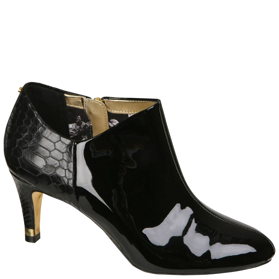Ted Baker Women S Caberi 4 Patent Leather Ankle Boots