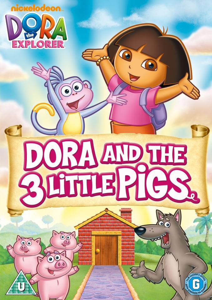 dora-the-explorer-dora-the-three-little-pigs