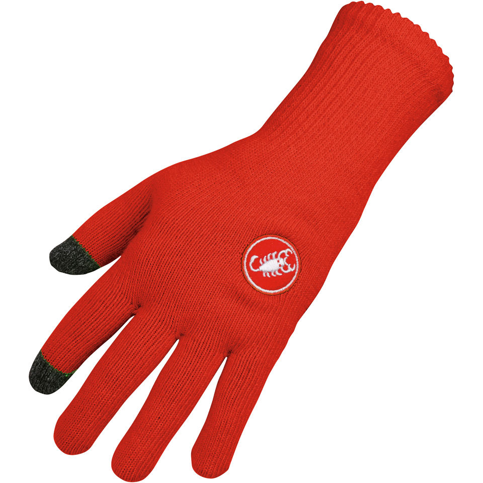 castelli-prima-gloves-red-lxl