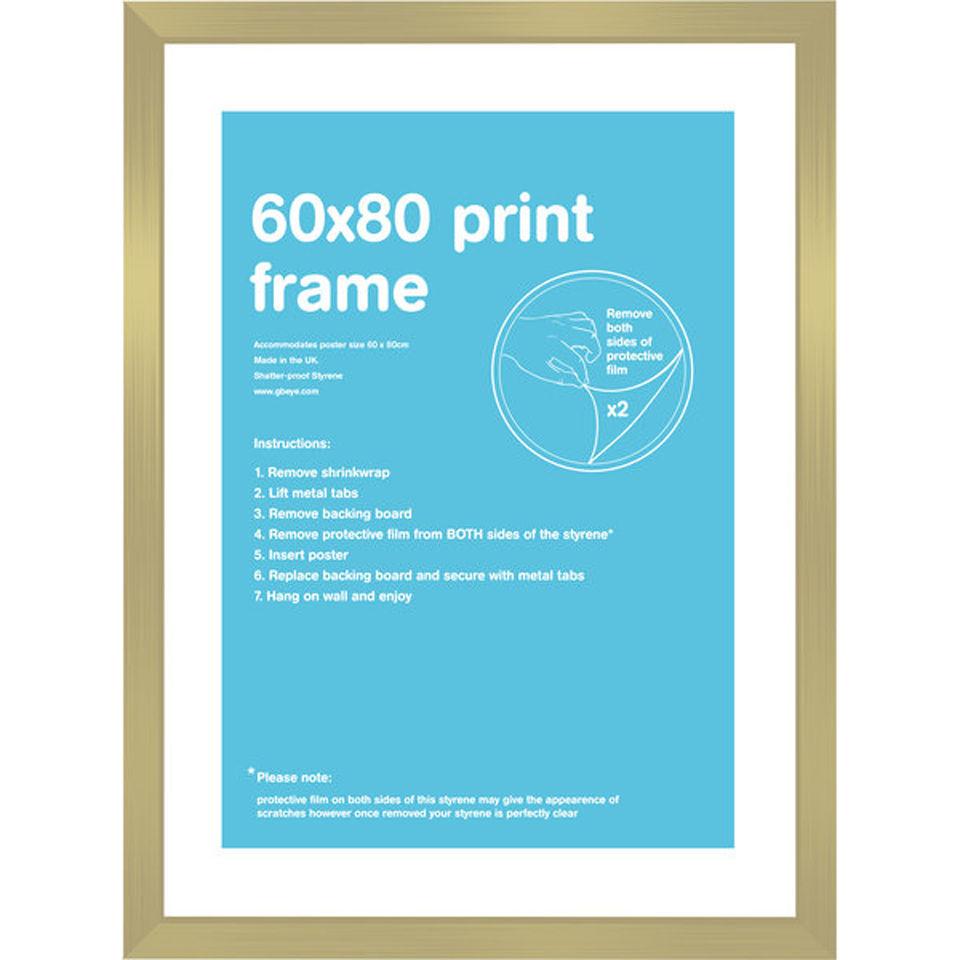gold frame 60 x 80cm iwoot. Black Bedroom Furniture Sets. Home Design Ideas