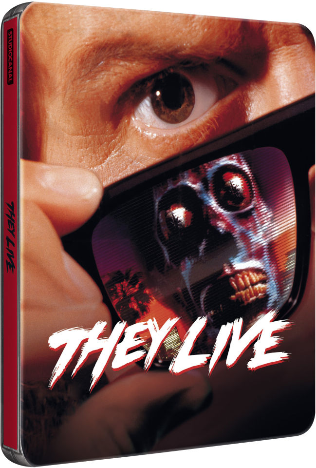 They Live Zavvi Exclusive Limited Edition Steelbook