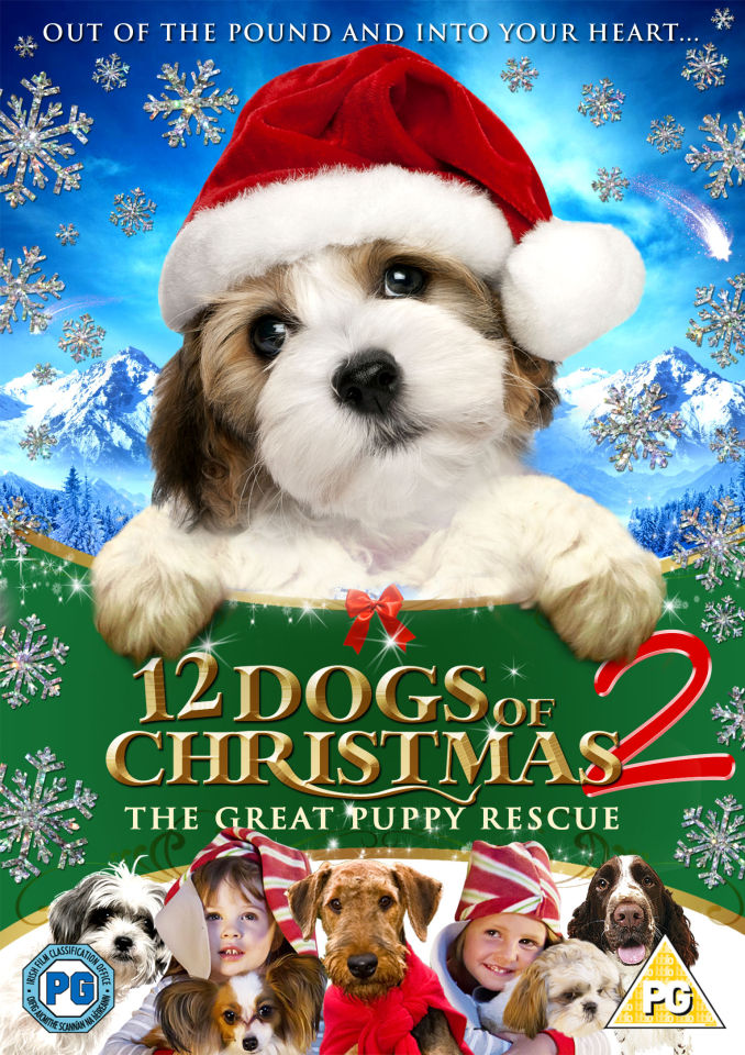 12 Dogs Of Christmas 2 Great Puppy Race Dvd Zavvi