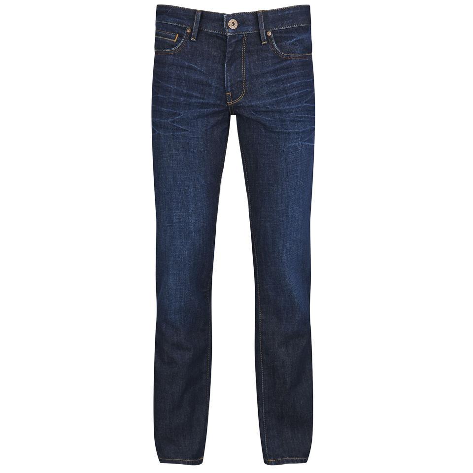 boss orange men 39 s straight leg denim jeans 402 blue. Black Bedroom Furniture Sets. Home Design Ideas