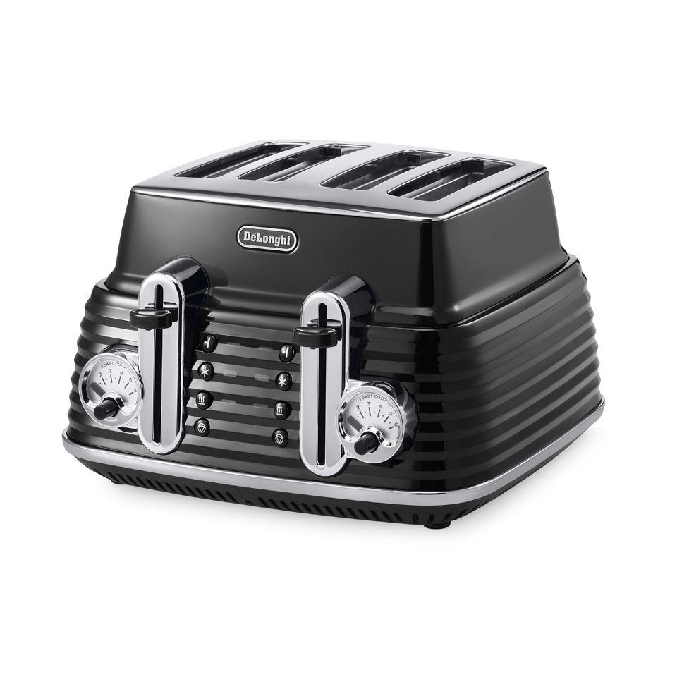 delonghi-ctz4003-scultura-4-slice-toaster-black-high-gloss