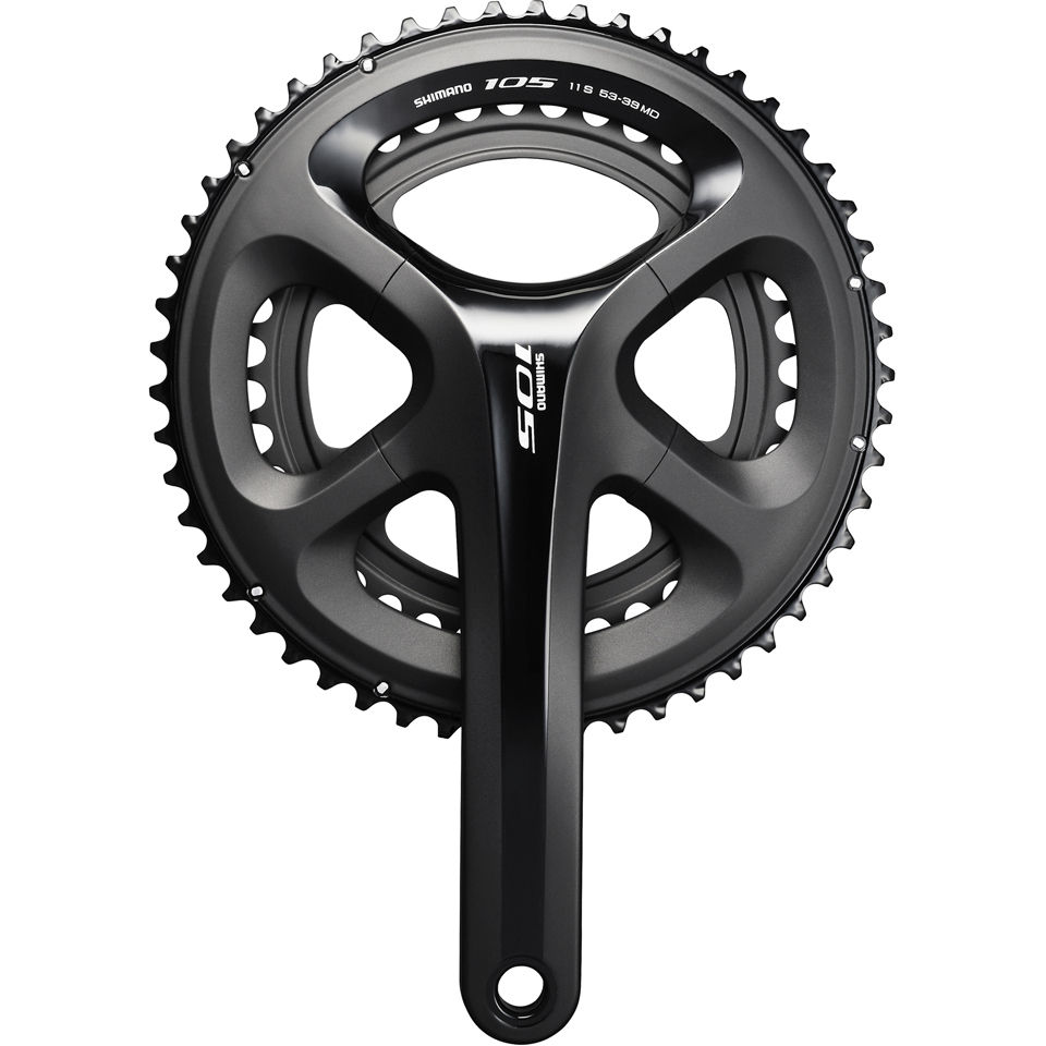 52T Teeth Shimano 105 FC5800 11 Speed Bike Cycle Chainring Black