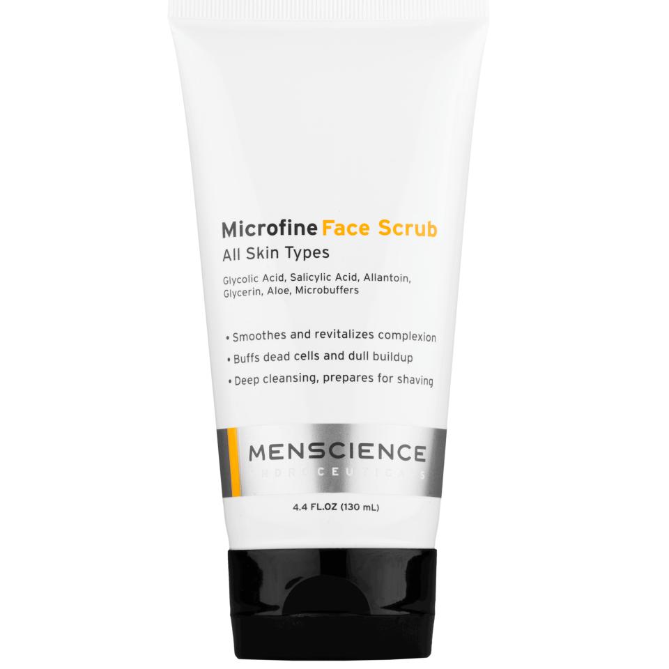 Menscience Microfine Face Scrub 130ml
